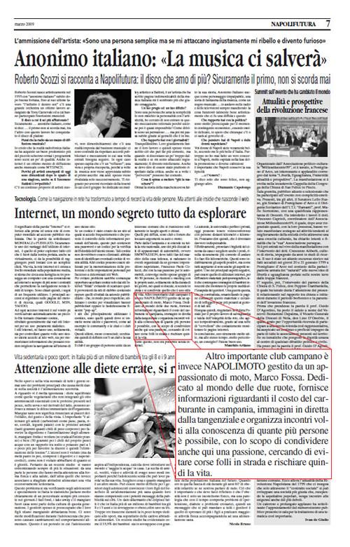 Napolifutura – Internet, un mondo tutto da esplorare – Marzo '09