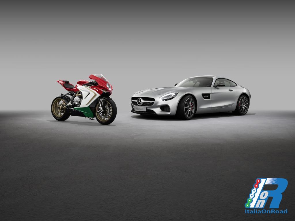 Mercedes-AMG e Mv Agusta nuova partnership