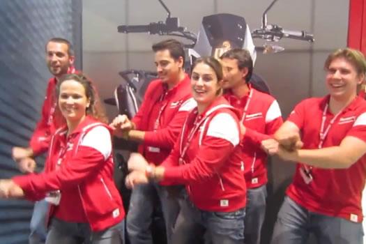 Eicma 2012 Gangnam Style (parody)