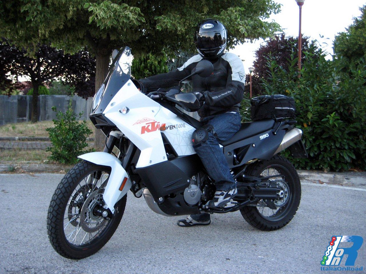 KTM Adventure 990 – testride