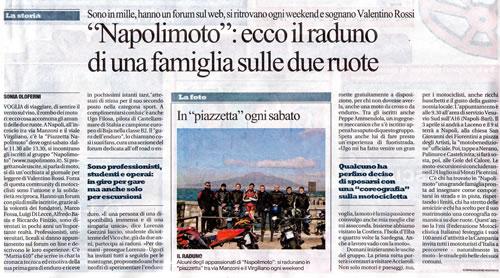La Repubblica – Napolimoto: ecco il raduno di una famiglia sulle due ruote!