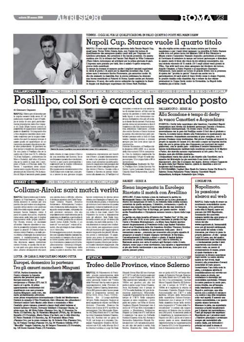 Il Roma – Napolimoto, la passione sbarca sul web – 28 Marzo 2009