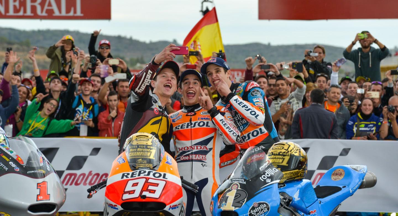 Valencia MotoGp: Vittoria di Marquez, secondo Rossi