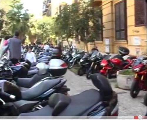 2° Motobenedizione ufficiale a Napoli 2011