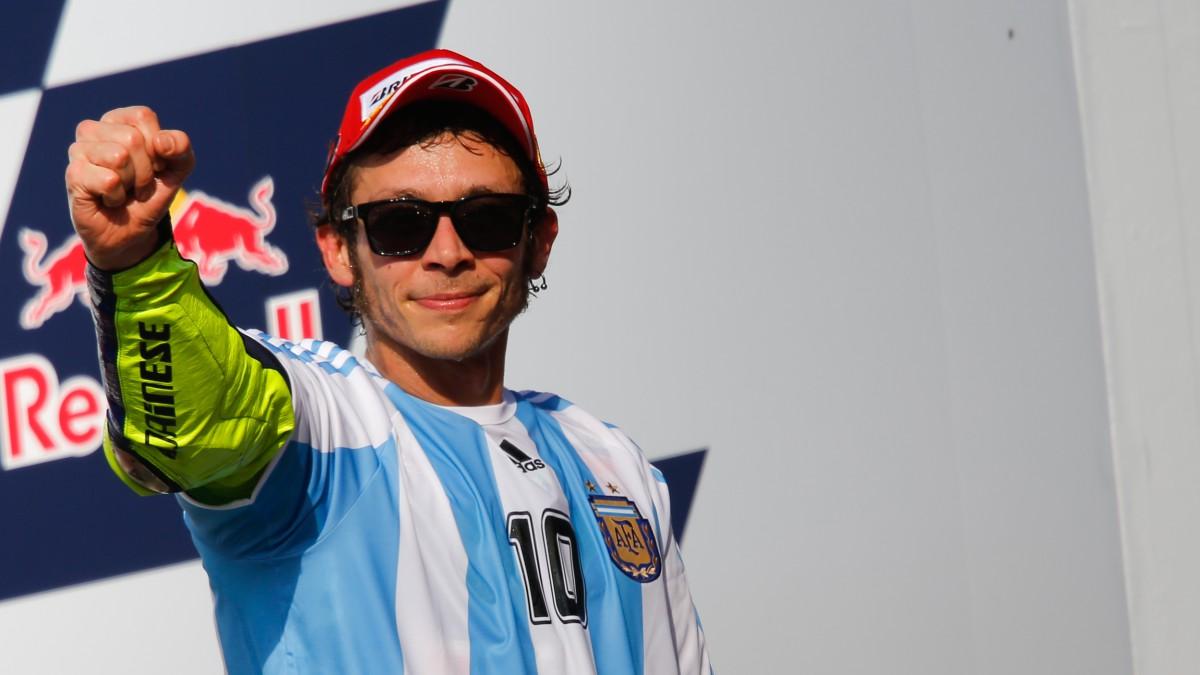 MotoGP di Argentina, Rossi da 110 & lode