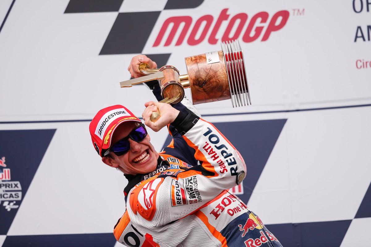 MotoGP Austin: Marquez cala il 'tris',