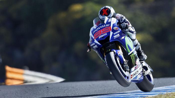 Lorenzo il Re di Jerez. Dominio assoluto dalle libere alla gara