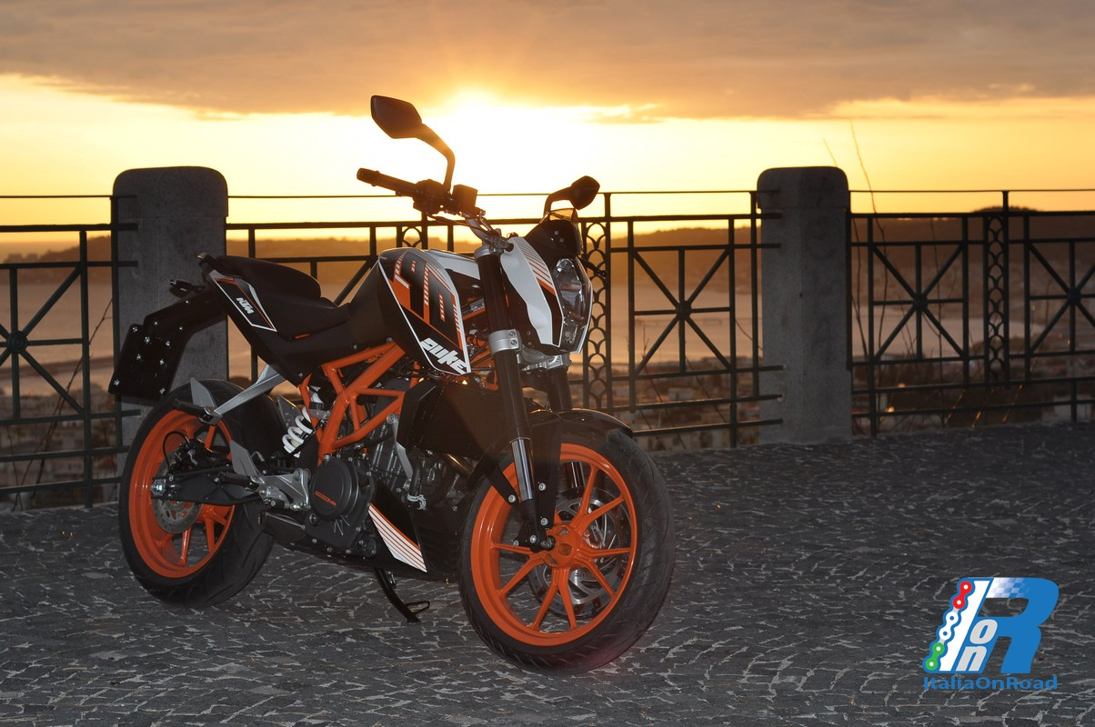 Test ride KTM Duke 390: L'anello mancante?