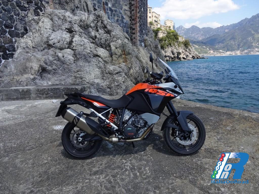 Test ride KTM 1050 Adventure