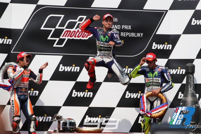 MotoGP Brno: Lorenzo, Marquez e Rossi