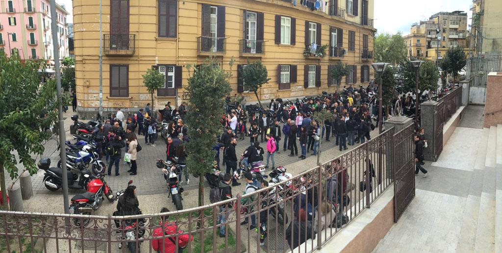 8° Motobenedizione Ufficiale a Napoli