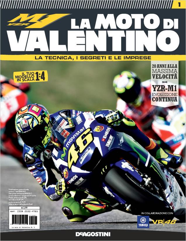 I collezionabili De Agostini: ecco la moto di Valentino