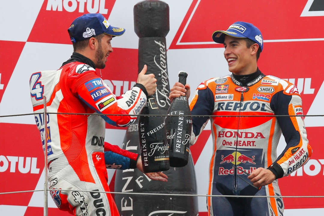MotoGP di Giappone, che Dovizioso ragazzi!