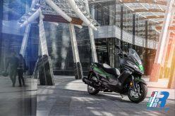 La gamma scooter Kawasaki 2019 si presenta con nuove colorazioni