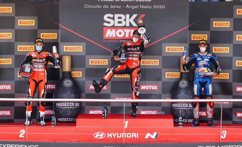 WorldSBK – Scott Redding rompe il ghiaccio. Doppietta Ducati a Jerez