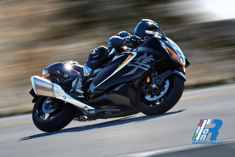 Suzuki Nuova Hayabusa, in Italia la versione Web Edition
